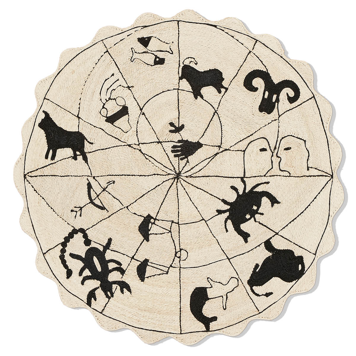 Astrologia Luxyury Hand-Coiled Rug | Pattersom Flynn Martin Custom Rugs